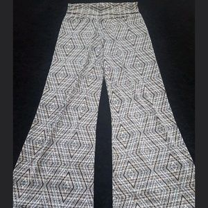 NWT Elan Beach Fold Over Palazzoo Pants Sz M